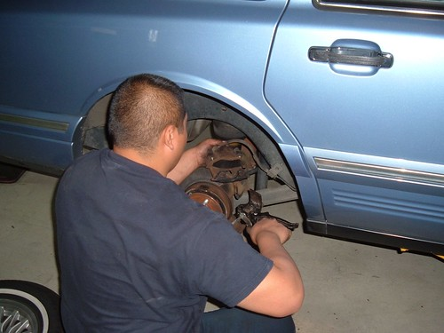 Towncar repair #3