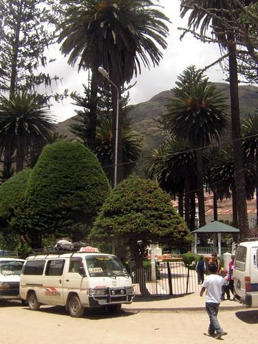 Minibus de Sorata a La Paz
