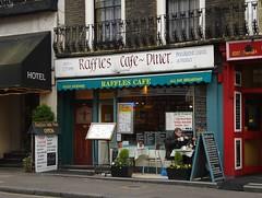 Raffles Cafe Paddington Menu