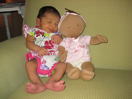 Lucy & her Doll