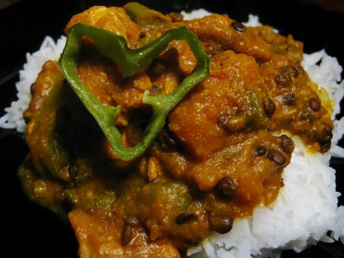 Turkey Curry (Indian style)