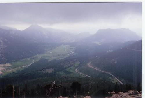 Storm Brewing over Hidden Valley, Rocky Mountain National Park