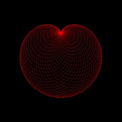 El Corazón (The Heart) (! Polyhedra !) Tags: geometric experimental geometry computergenerated digitalart math mathematics plot notaphoto cardioid roulettes matemáticas epitrochoid mathematicalmodel algorithmicimage spirographcurves