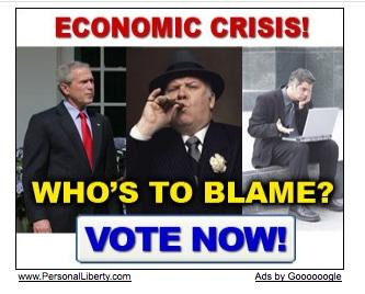 Economic Crisis Spreads To Pop Up Ads