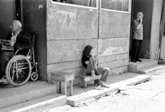 Rakovica 25 (Agnes Montanari) Tags: bw youth children refugee serbia kosovo displacedpersons collectivecentre