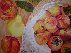 Fresh peaches new! (angeliciousart) Tags: green art fruit french diana sellers georgeous georgeousgreenfrenchpeachessexydeliciousart
