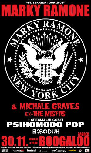 Michaele Graves Ramones Misfits Marky Ramone