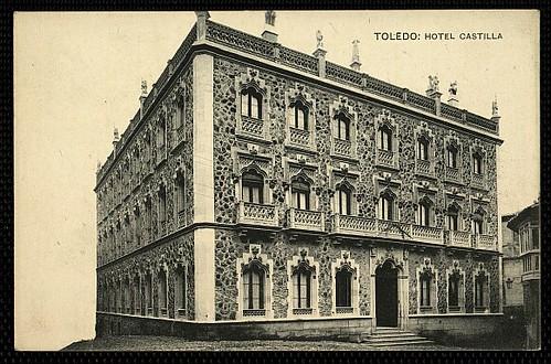 Hotel Castilla (Toledo) hacia 1930