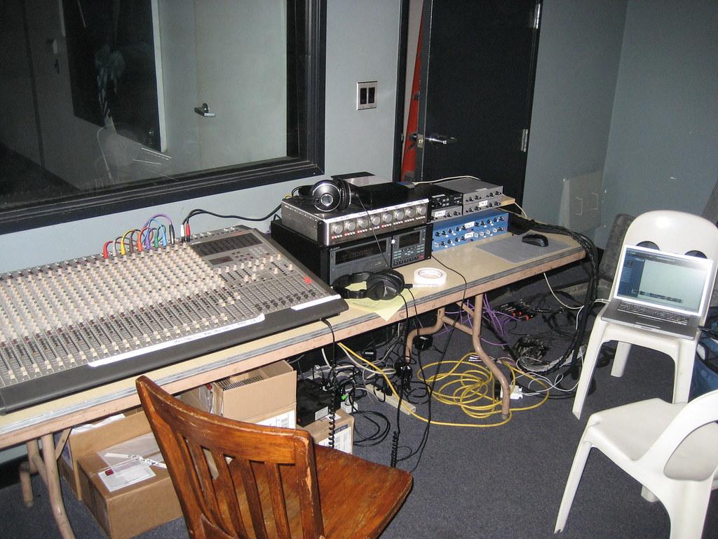 Recording rig at Jazz Bakery