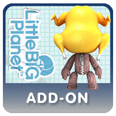 LittleBigPlanet Turkey Head Costume