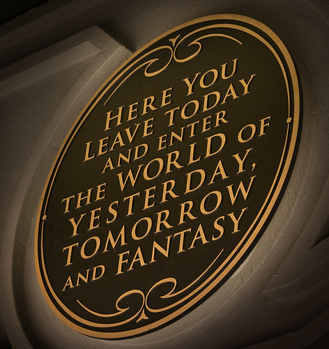 """Here You Leave Today and Enter the World of Yesterday, Tomorrow, and Fantasy"""