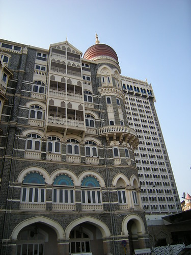 Taj hotel, Mumbai, the day before the terrorist attacks