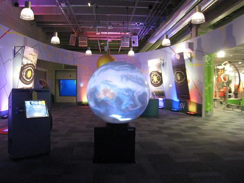 Planisphère interactive