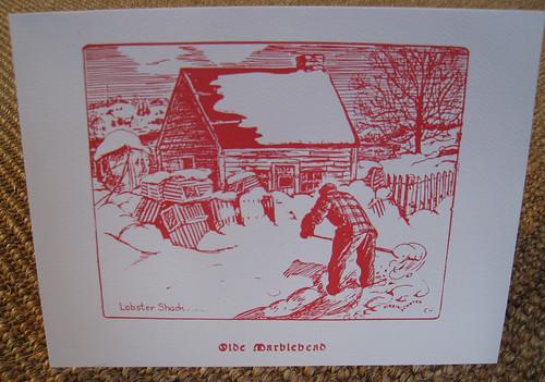 Marblehead Christmas Card