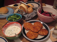 Tandoori Chicken Burgers w/ Beetroot Couscous 2