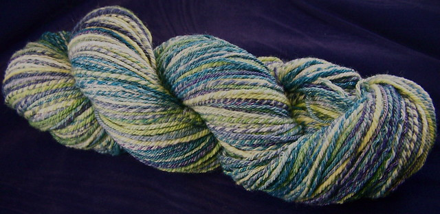 Seascape superwash merino navajo plyed