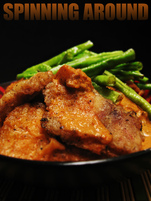 Fish with Red Curry Sauce