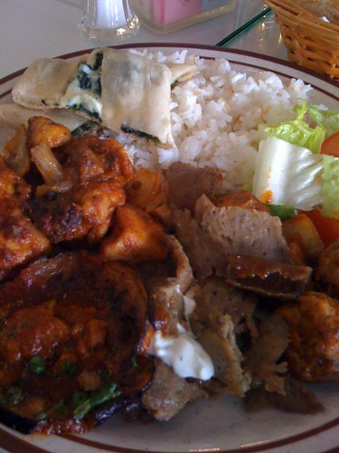 Buffet Plate from Anatolia Cafe