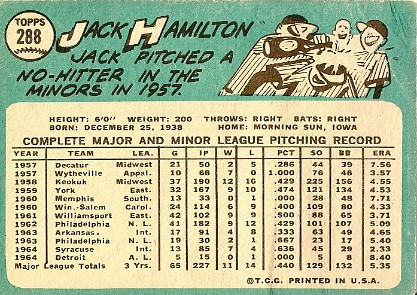 Jack Hamilton (back) by you.
