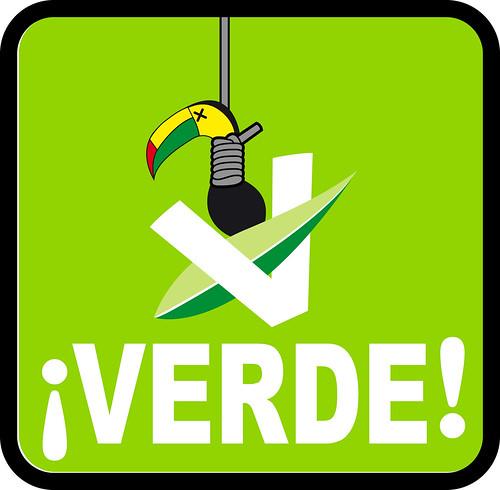 Nuevo logo del PVEM