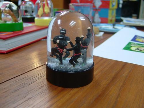 Ninja Snow Globe
