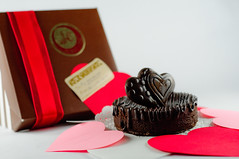 Valentines Chocolate Torte