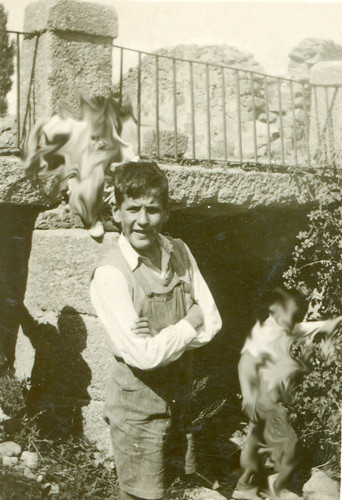 Joaquín con 12 años