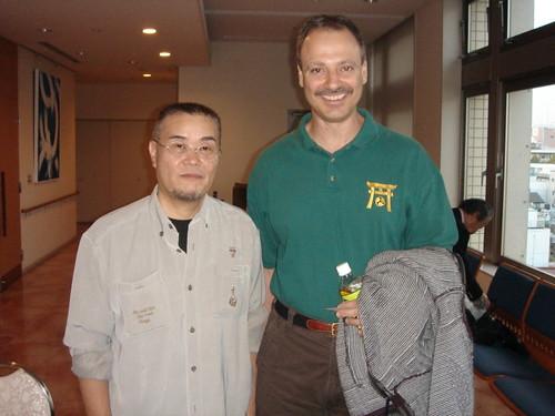 Meeting Uematsu Yoshiyuki Sensei