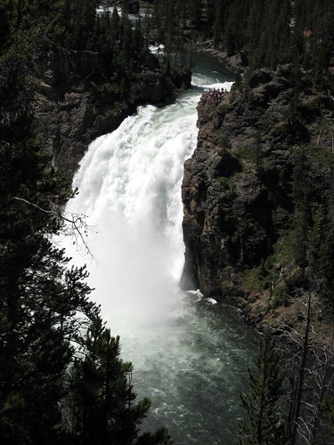 Upper Falls, from Uncle Tom's Point trailhead