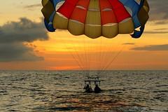 The Dip (Ichthys101) Tags: sunset party vacation beach island paradise dusk philippines adventure tropical boracay whitesand parasailing visayas malay aklan takipsilim