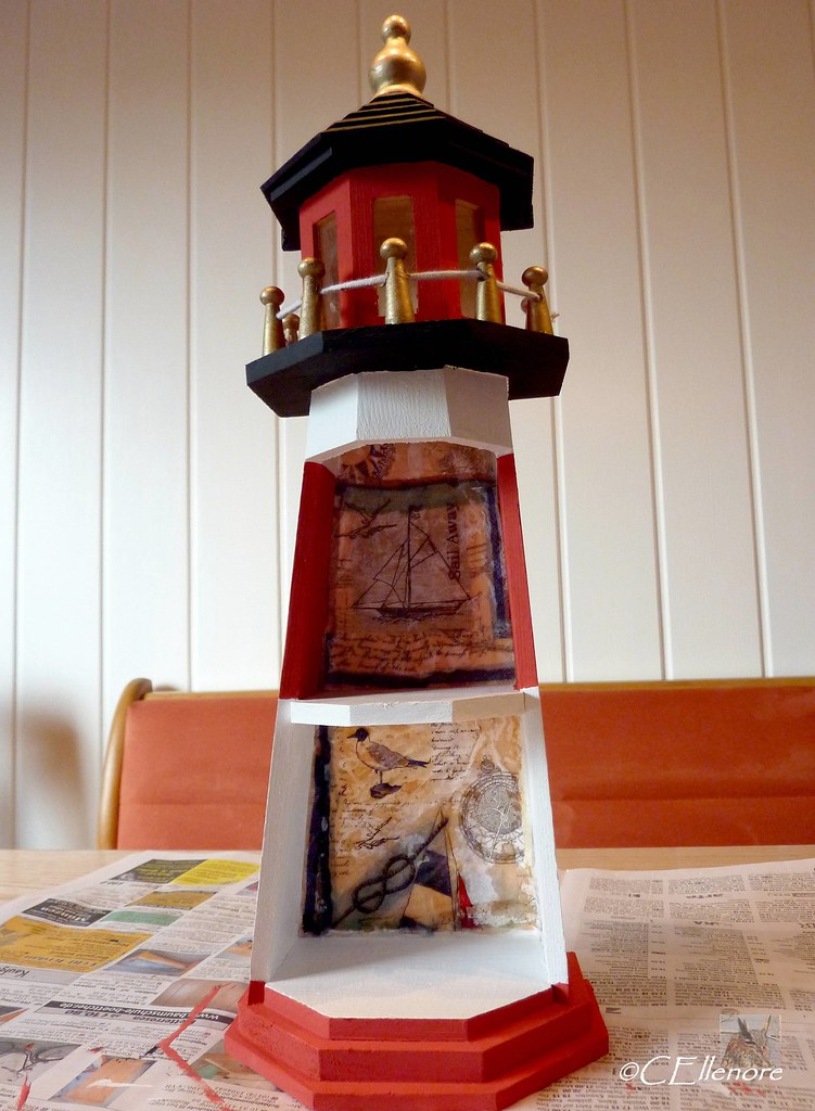 Deko: Leuchtturm / lighthouse (5)