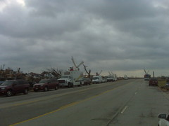 A Sea of Sat Trucks by Eric The Photog