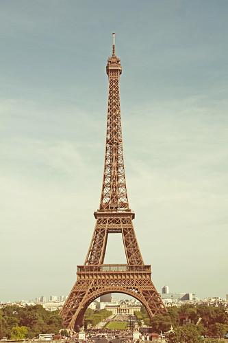 フリー写真素材, 建築・建造物, 塔・タワー, エッフェル塔, フランス, パリ,