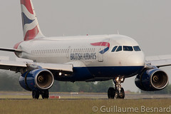 Airbus A319 British Airways G-EUPD MSN 1142 (Guillaume Besnard Aviation Photography) Tags: paris france plane canon airplane eos airport aircraft britishairways canoneos charlesdegaulle spotting roissy cdg planespotting airbusa319 lfpg parisairport roissycdg roissycharlesdegaulle geupd parisroissy msn1142 parisroissycdg cn1142