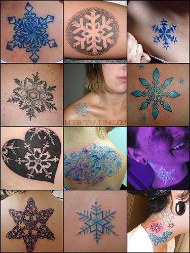 Casmun Tattoo Snowflake Tattoo