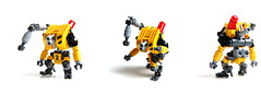 Industrial-Grade P-8 Lifter Robot (gIadius) Tags: industry yellow robot industrial lift lego tiny mecha mech mechanoid foitsop