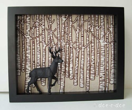 birch-deer