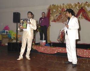 Nitin Ganatra & singer Raghav