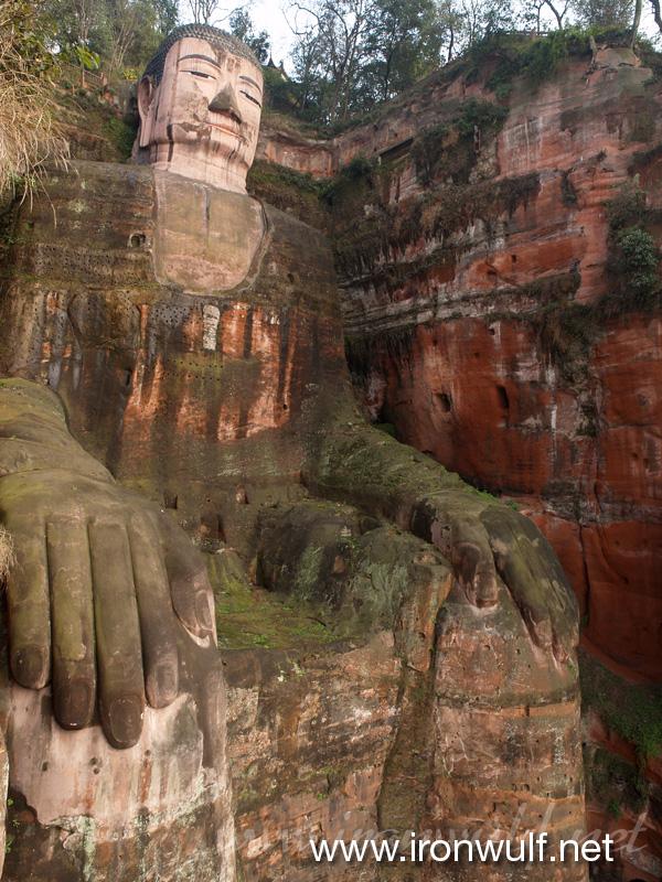 Leshan Giant Buddha MId View
