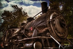 travel to eternity (Kris Kros) Tags: california ca usa history classic train photoshop vintage photography high dynamic antique socal kris historical locomotive eternity 2008 range hdr kkg cs3 664 photomatix kros kriskros 5xp kk2k alarecherchedutempperdu kkgallery