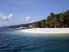 The breathtaking pubic beach of Kaputian, Samal Island