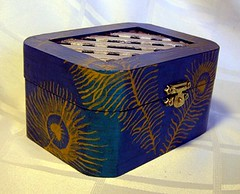 Soferet peacock box 1