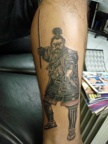 samurai by tattoo invaders