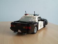 CHP Chevrolet Camaro (5) (Mad physicist) Tags: chevrolet lego camaro policecar chp lugnuts californiahighwaypatrol