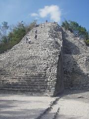 Cob (Pucked in the Head) Tags: jason stairs mexico temple ruins maya stonework ruin mayan temples cob kurylo jasonkurylo stodmyk mexico2008