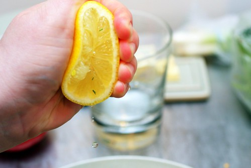 drops of lemon juice