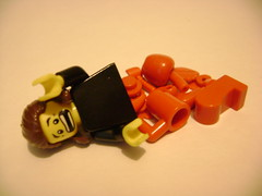 Too Much Gore? (Battledog) Tags: pain blood lego gore minifig organs insides injured moc