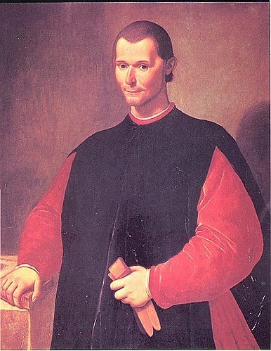 Painting of Niccoló Machiavelli, author of The Prince