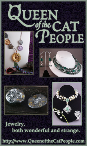 My gallery @ QueenoftheCatPeople.com! Links to Etsy!