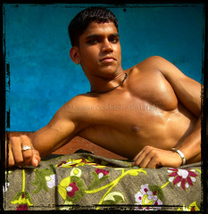 Vinod, Imperator (designldg) Tags: portrait people india man youth varanasi benaras uttarpradesh भारत redhalo indiasong pehlwan articulateimages imperatorvinod